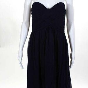 Donna Morgan Amethyst Silk NEW Sweetheart Dress 16